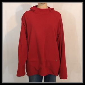 Nike Therma Fit Hooded Red Pullover
